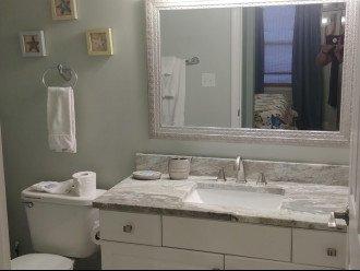 Updated bathrooms with granite countertops in 2019