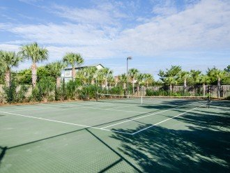 Celadon has a tennis court, shuffleboard court, pavilion, and grill.