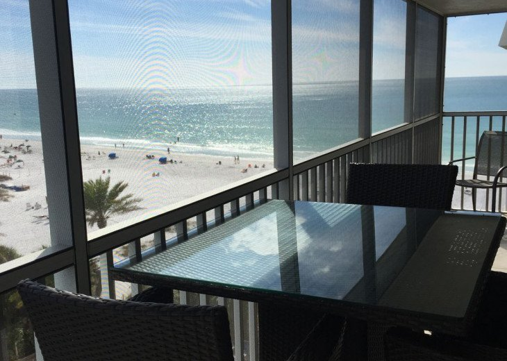Beachfront Penthouse - Expansive Gulf View from Every Room! Wifi, linens, chairs #2