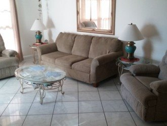 Huge sleeper, marble floors,balcony,xl flat screen,Xtreme comfy thick furniture
