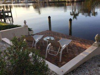 Spacy boat dock