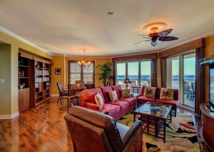 Ocean Vistas Unit 1101 -THE Crown Jewel on Daytona Beach! 3 Bed 3.5 Bath #1