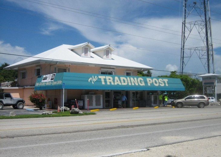 The Trading Post was our only market but Publix is now open.