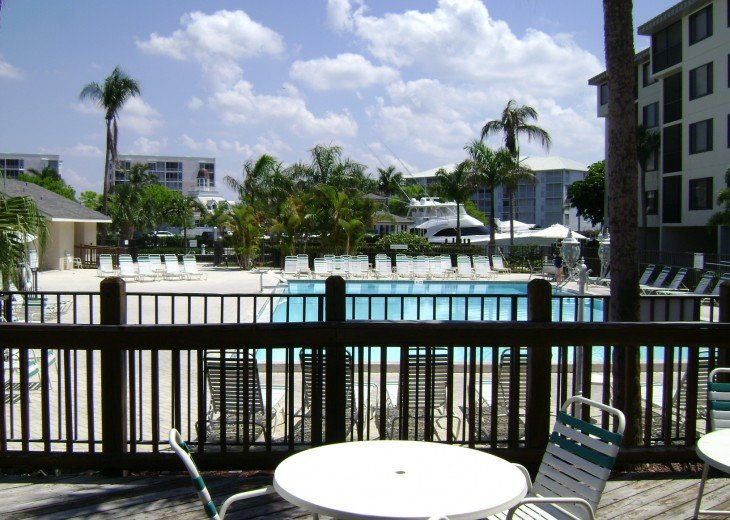 Fort Myers Beach Vacation Condo - Newly Renovated - Resort Pool, WiFi and Dock #17