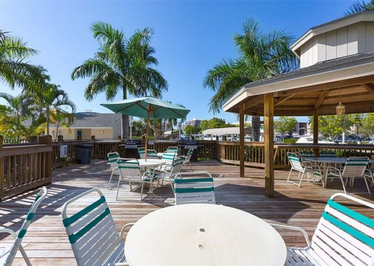 Fort Myers Beach Vacation Condo - Newly Renovated - Resort Pool, WiFi and Dock #21