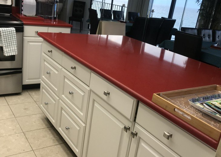 kitchenette counter
