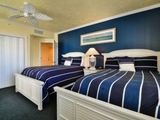 Guest Bedroom with 2 Full Sized Beds