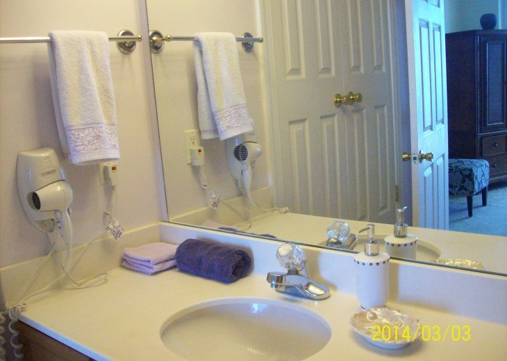 Bedroom #1 private full bathroom