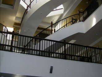 Beautiful architecture as viewed from first floor