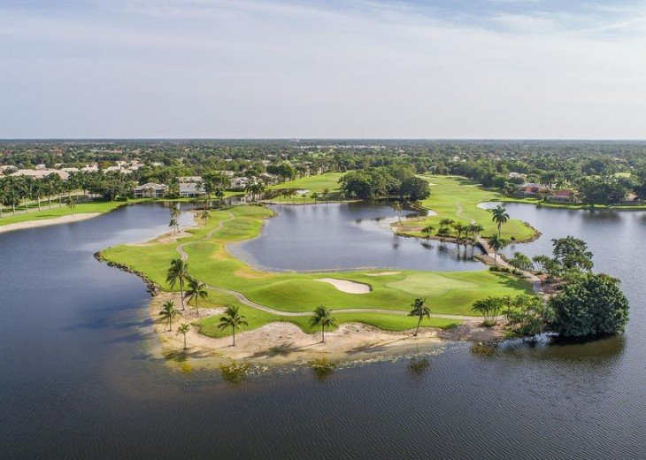 The Flamingo golf course at Lely