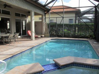 Large Lanai w/ Heated Pool & Spa