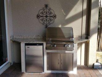 New outdoor kitchen
