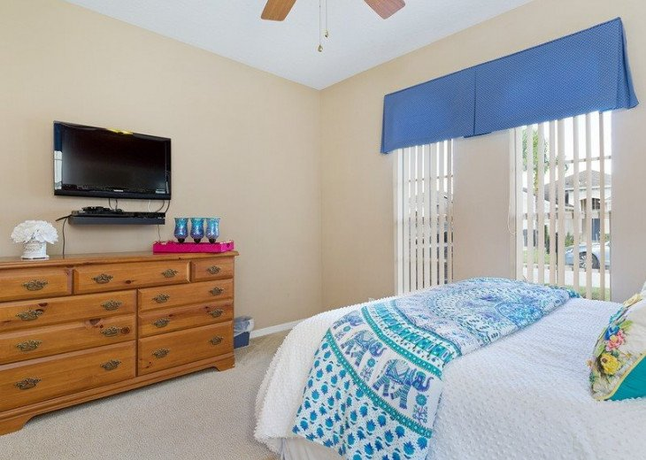 Disney Themed bedrooms and a South Facing Pool and SPA in Calabay Parc #21