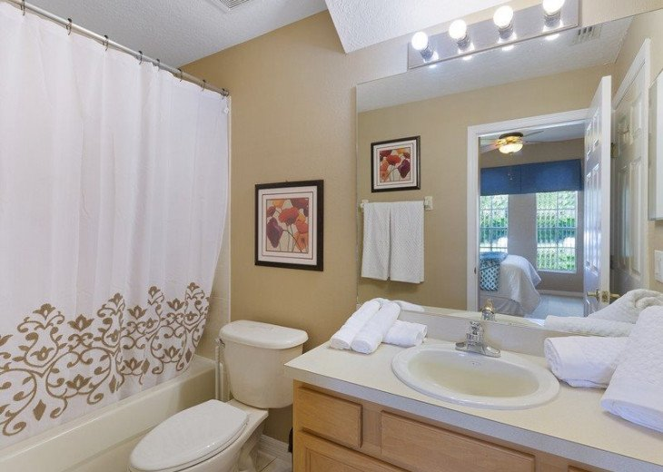 Disney Themed bedrooms and a South Facing Pool and SPA in Calabay Parc #20