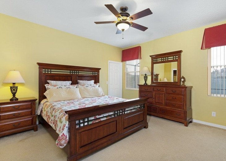 Disney Themed bedrooms and a South Facing Pool and SPA in Calabay Parc #14