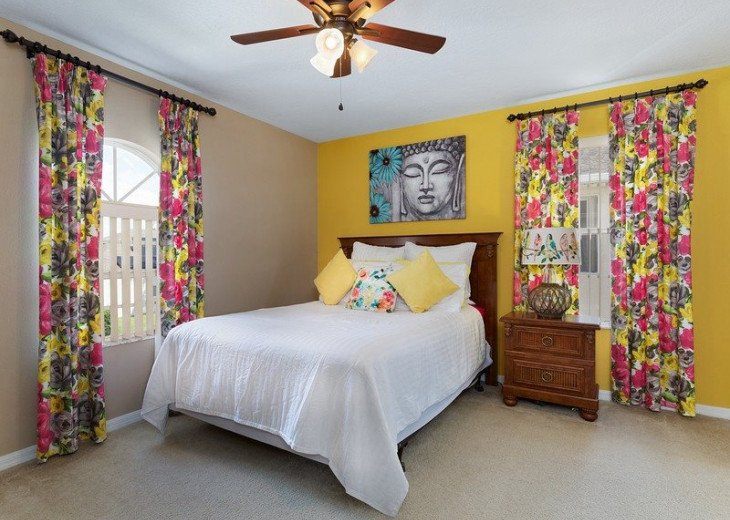 Disney Themed bedrooms and a South Facing Pool and SPA in Calabay Parc #18