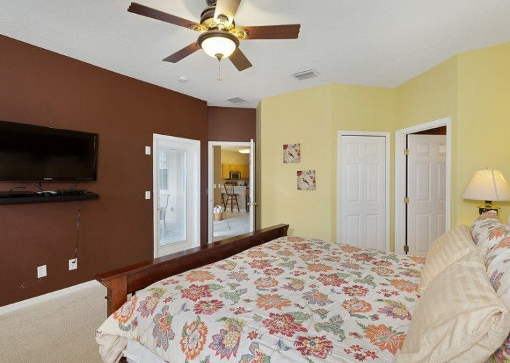 Disney Themed bedrooms and a South Facing Pool and SPA in Calabay Parc #15