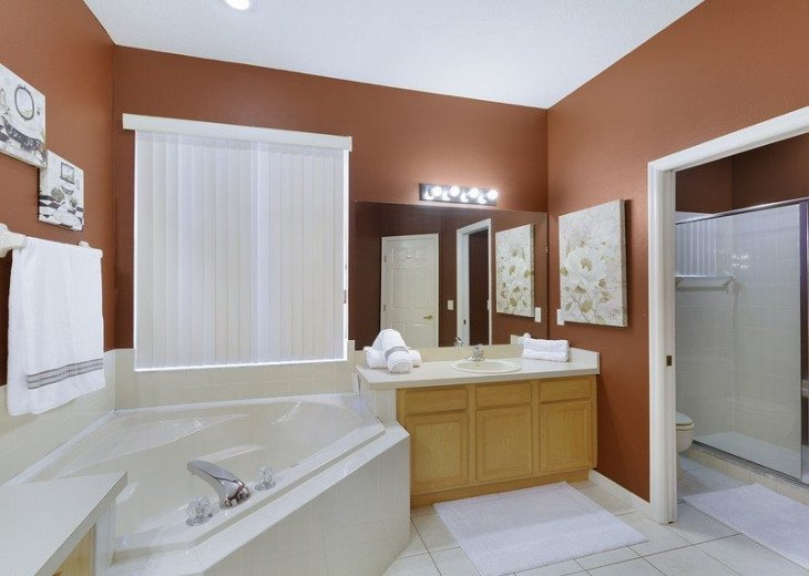 Disney Themed bedrooms and a South Facing Pool and SPA in Calabay Parc #17