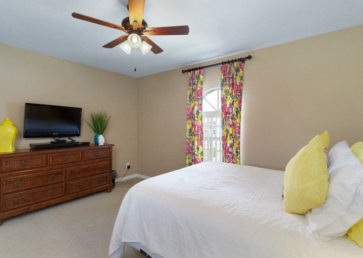 Disney Themed bedrooms and a South Facing Pool and SPA in Calabay Parc #19