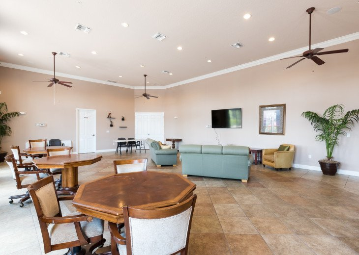 Stay in this 5 Br Pool & Spa home with game room in Aviana Resort. Sleeps 12 #43