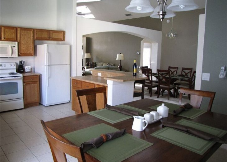 Stay in this 5 Br Pool & Spa home with game room in Aviana Resort. Sleeps 12 #3