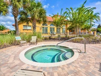 Stay in this 6, 5.5 bath vacation pool home with spa in WaterSong Resort #1