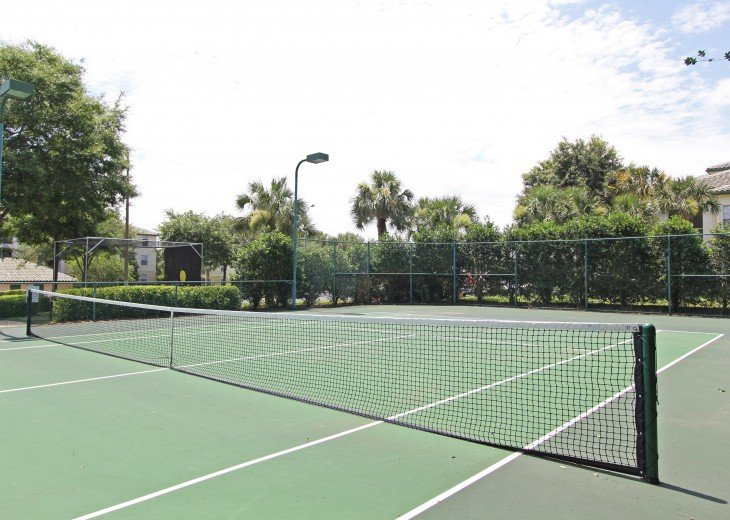 Tennis Court at Legacy Dunes