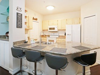 condo 7-108 with newly refurbished kitchen & new appliances