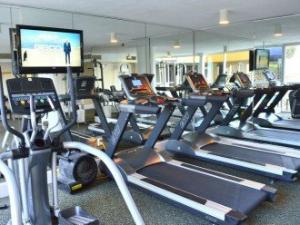 Pelican Beach Fitness Room