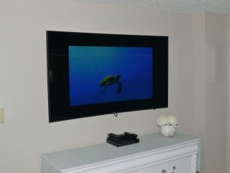 """55"""" Curved TV in the Master Bedroom!!!"""