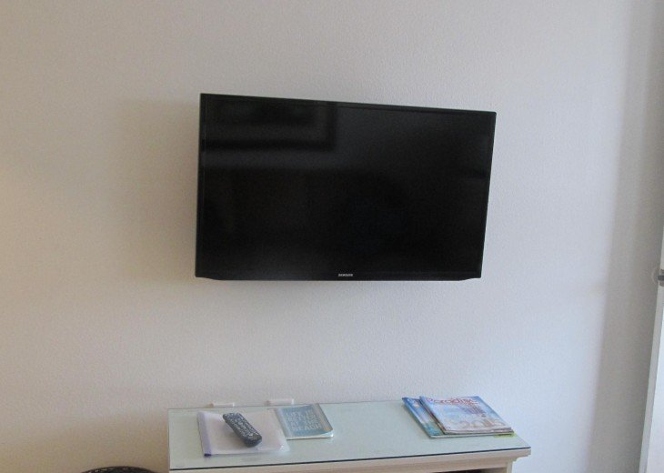 Samsung smart TV in living room