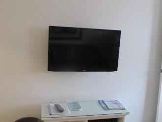 Samsung smart TV in living room