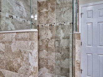 Walk in FGlass/Tile Shower Rain Head