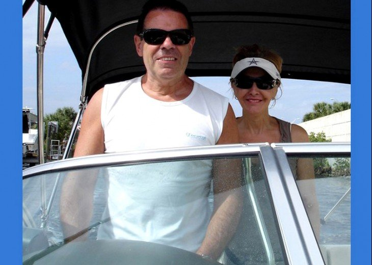 Happy Boating in Cape Coral ~ Marcus & Simonne