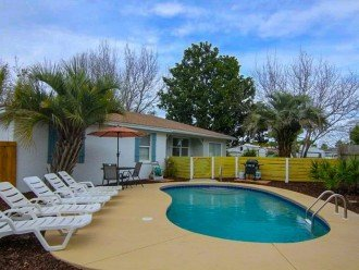 4 bed 2 bath private pool 2 blocks to the beach! #1