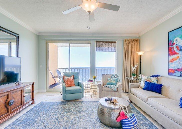 Beachfront Designer Condo Treasure Island Resort PCB 1105 #15