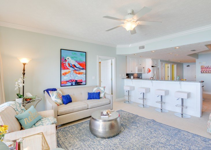 Beachfront Designer Condo Treasure Island Resort PCB 1105 #10