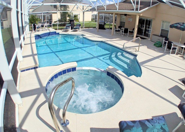 Luxury Villa Near Disney, Large Private Deck, Pool/Spa, Free Wifi, BBQ, HBO #30