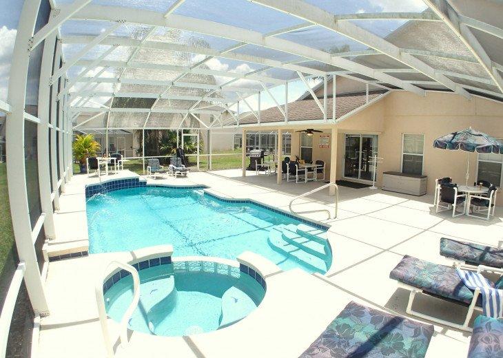Luxury Villa Near Disney, Large Private Deck, Pool/Spa, Free Wifi, BBQ, HBO #42