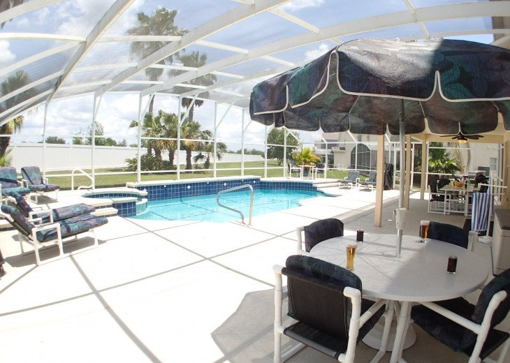 Luxury Villa Near Disney, Large Private Deck, Pool/Spa, Free Wifi, BBQ, HBO #40