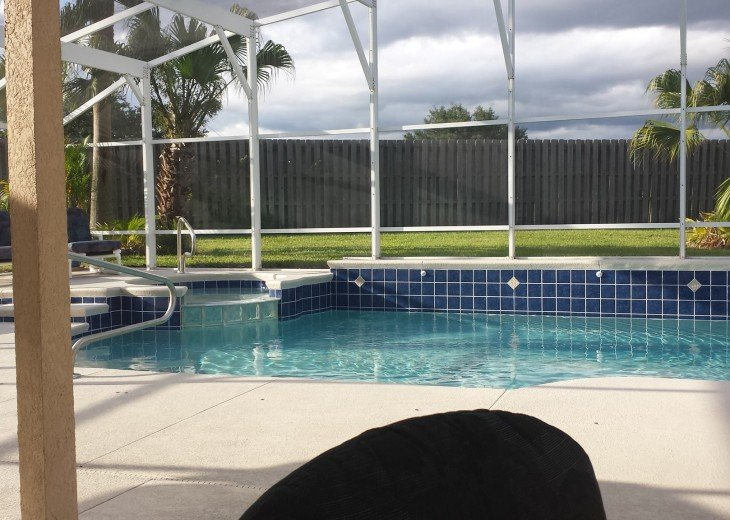 Luxury Villa Near Disney, Large Private Deck, Pool/Spa, Free Wifi, BBQ, HBO #3