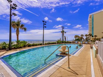 Ocean Front Heated Pool