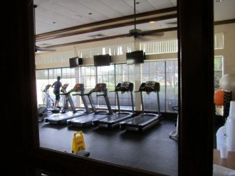 Clubhouse Excercise room