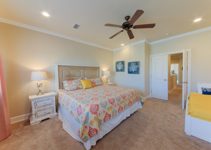 Master Bedroom with Daybed