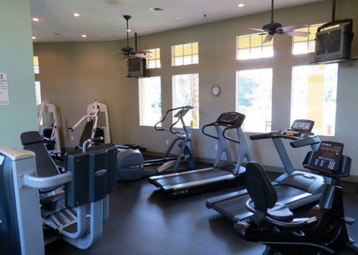 Workout room in the Clubhouse