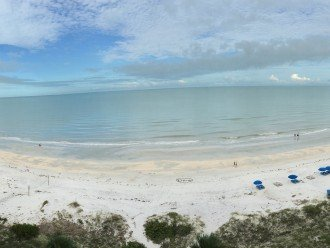 Panoramic 180 degree view of the Gulf of Mexico from your balcony