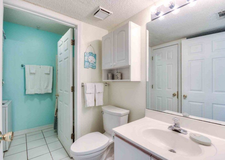 Master Bath has Shared Shower Two Private Vanities