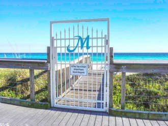 Gated Access to the Private Beach for Maravilla Guests Only
