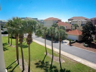 Beautiful neighborhood view of Beachside Villas from Your 3rd Floor Balcony.