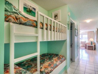 Hallway Bunks. Extra Space for Two and Fun for the Kids!